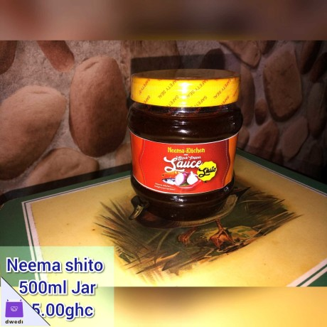 Neema shito..(black pepper sauce) 500ml