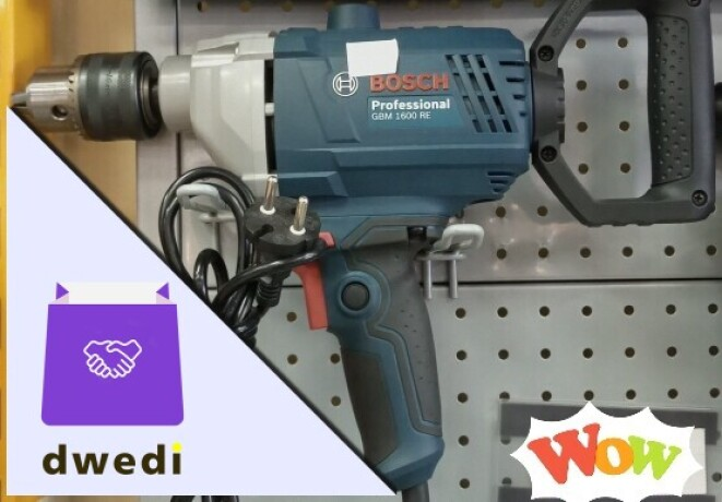 Pro BOSCH DRILLING MACHINE with hammer effects