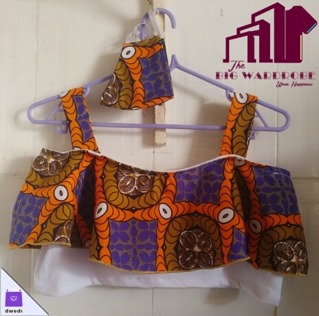 african-print-sleeveless-crop-top-with-adjustable-straps-and-free-nose-mask-big-0
