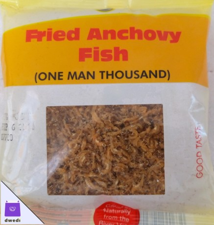 Fried Anchovy Fish (One Man Thousand) 100g