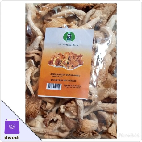 Dried Oyster Mushrooms 50g, 100g