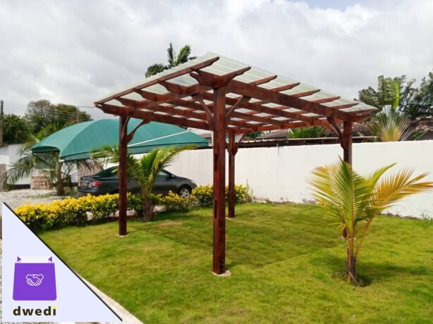 Beautiful pergola structure