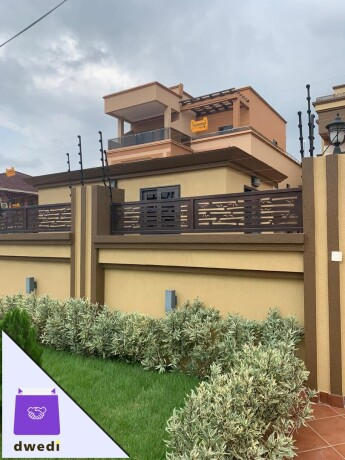 5-bedrooms-storey-with-1-boys-quarter-for-rent-at-east-legon-around-legos-avenue-street-big-9