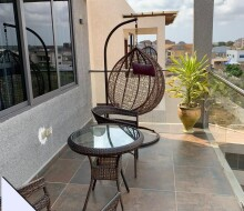 fully-furnished-3bedroom-house-with-swimming-pool-for-sale-at-east-legon-hills-small-1