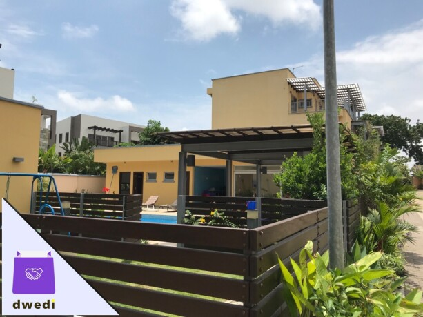4bedroom-swimming-pool-gated-community-house-for-rent-at-cantonment-big-0