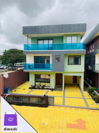 5 bedrooms storey with 1 boys quarter for rent at east legon